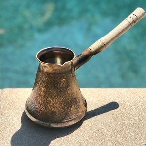 Antique primitive Turkish Coffee Pot